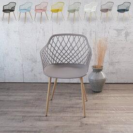 【ポイント5倍】ガーデンチェア 5色 肘付き メッシュPPチェア C1800P チェア 椅子 イス テラス 庭 庭先 バルコニー ガーデン ガーデンファニチャー おしゃれ