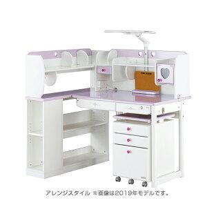 2020年度モデル【メーカー直販】くろがね学習机キュートガールシリーズハイタイプ2色カラーCD-CGX20H