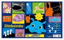 【深海魚】サンリオ シンカイゾク柄デスクマット 学習デスクデスクカーペット 学習机 つくえ 学習チェア 学習椅子 デ…
