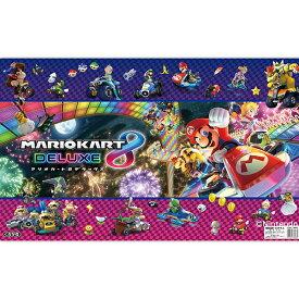 【巻かずに発送。すぐ使える】マリオカート8デラックス デスクマット 全てがデラックス!【送料無料!】学習デスク 学習机 つくえ 【ラッキーシール対応】DM-18MK
