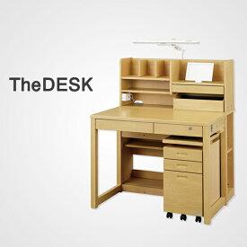 『THE DESK』ザ・デスク くろがね学習机 タブレット学習対応デスク KSD20A型 【メーカー直販】スタンダードシリーズ ロータイプ 3色【2020年度モデル】【デスクマット付】 組替えデスク 本棚が使いやすい!かわるんラック搭載 学習デスク