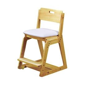 くろがね学習チェア WDC21型 木製イス 座面PVC張タイプ 木製チェア 学習椅子 天然木 座面高さ調節4段階 座面前後奥行きスライド調節 足置き高さ3段階調節 沈み込みキャスター 2021年度モデル