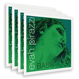 【送料無料】Pirastro Evah Pirazzi(Medium)/エヴァ・ピラッツィ(ミディアム)【4弦セット】【コントラバス弦】【日本総本店コントラバスフロア在庫品】
