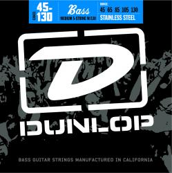DUNLOP Stainless Steel Bass Strings Medium 5-130 [DBS45130] (45-130) 《5弦ベース弦》【ネコポス】【ONLINE STORE】