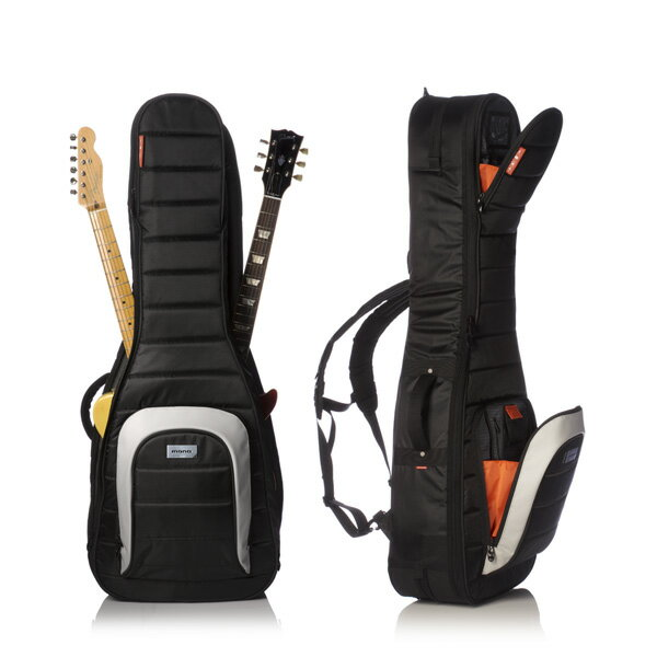 """MONO M80 2G-BLK """"Electric Guitar Case"""" (Jet Black) 《エレキギター用2本入りギグバッグ》【ONLINE STORE】"""