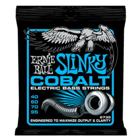 ERNIE BALL #2735 Cobalt Slinky Bass Strings Extra (40-95)《ベース弦》 アーニーボール/コバルトスリンキー 【ネコポス】【ONLINE STORE】