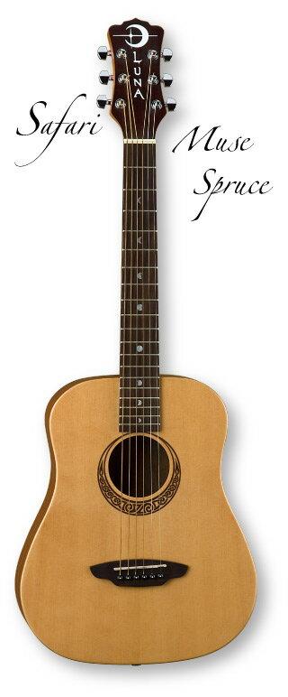 Luna Guitars Safari Muse Spruce【ONLINE STORE】