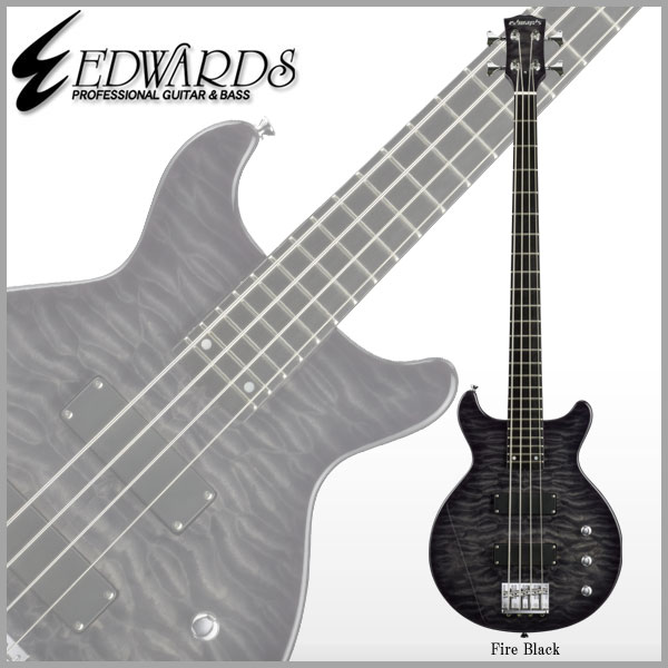EDWARDS E-J-140TVB [ LUNA SEA J / ルナシー・ジェイ](Fire Black)【送料無料】【ONLINE STORE】