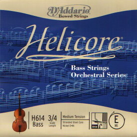 D'Addario H610 Helicore Bass Strings Orchestral Series SET コントラバス弦セット 【送料無料】【ONLINE STORE】