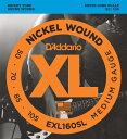 D'Addario EXL160SL Nickel Round Wound 《ベース弦》 ダダリオ 【ネコポス】