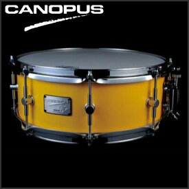 """CANOPUS Neo-Vintage Series Snare Drum NV60M3S-1455 14""""x5.5"""" (Cloudy Yellow) 《スネアドラム》【送料無料】【ONLINE STORE】"""