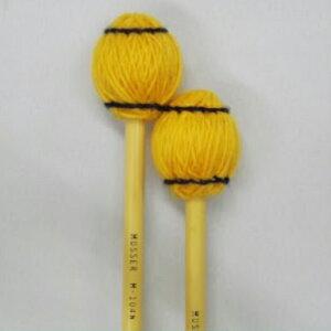 Musser 100 Series M-104 Soft オレンジ毛糸 【1ペア】《マリンバ、シンバル、小物打楽器用マレット》【ONLINE STORE】