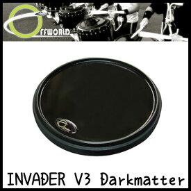 OFFWORLD Percussion INVADER V3 Darkmatter 練習用 ドラムパッド【送料無料】【sntb-u】【ONLINE STORE】