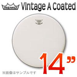 """REMO Vintage A(アンバサダー) Coated 14""""(35cm) 〔VA-114〕《ドラムヘッド》レモヘッド【ONLINE STORE】"""