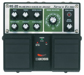 BOSS RE-20 Space Echo《エフェクター/ディレイ/テープエコー・シミュレーター》【送料無料】【ONLINE STORE】