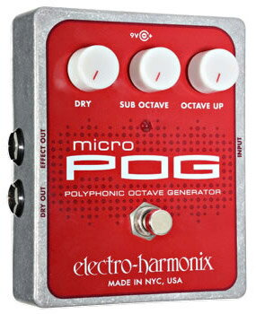Electro Harmonix Micro POG 《エフェクター/オクターバー》【送料無料】【G-CLUB渋谷】