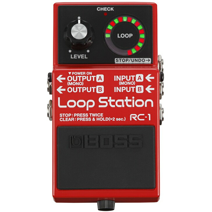 BOSS RC-1 Loop Station 《エフェクター/ルーパー》【送料無料】【ONLINE STORE】