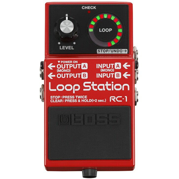 BOSS RC-1 Loop Station 《エフェクター/ルーパー》【送料無料】【ONLINE STORE】
