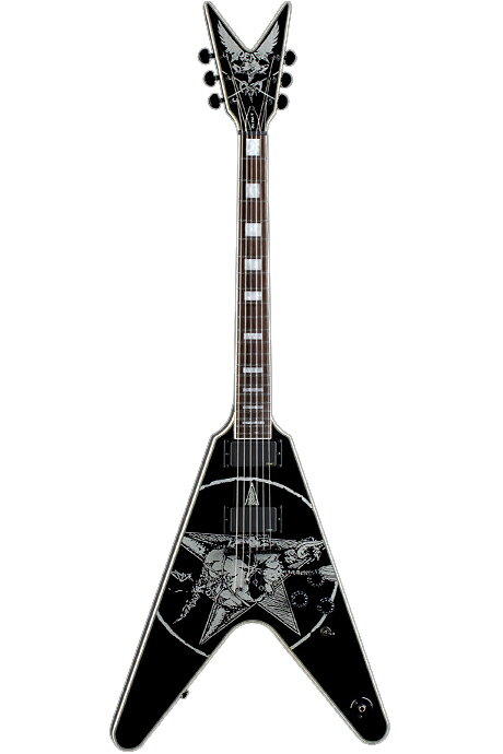 Dean Eric Peterson Old Skull V w/Case [Eric Peterson / Testament]【送料無料】 [EPV]【ONLINE STORE】