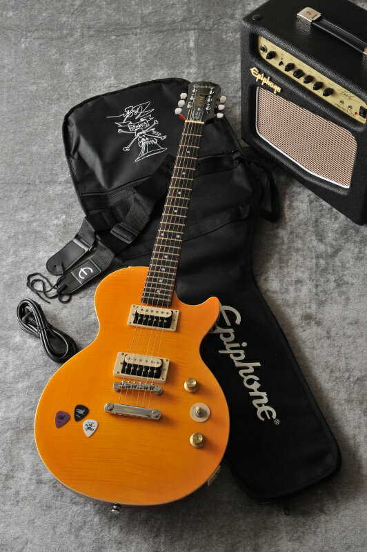 """Epiphone Slash """"AFD"""" Les Paul Special ll Performance Pack(Appetite Amber) [PPGS-ENA2AANH3-JP]【送料無料】"""