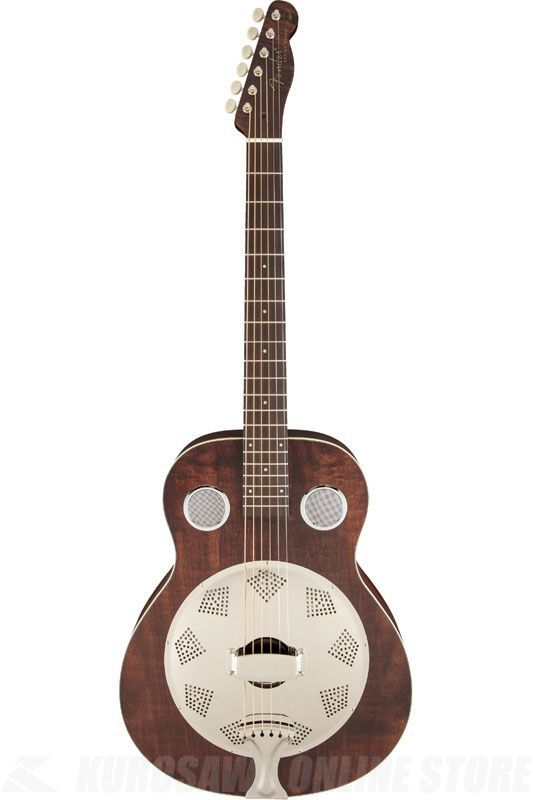 Fender Acoustic / Brown Derby Resonator, Brown Stain 《リゾネーターギター》【ONLINE STORE】
