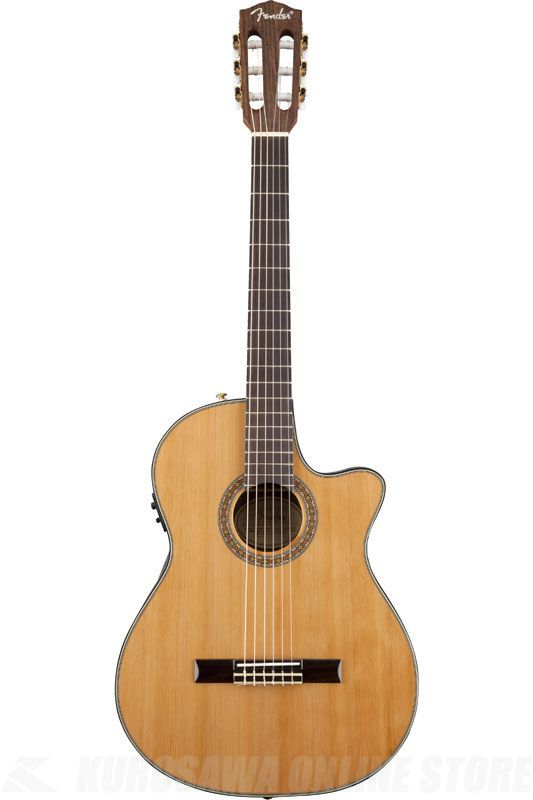 Fender Acoustic / CN-240SCE Thinline Classical, Natural 《クラシックギター》【ご予約受付中】【ONLINE STORE】