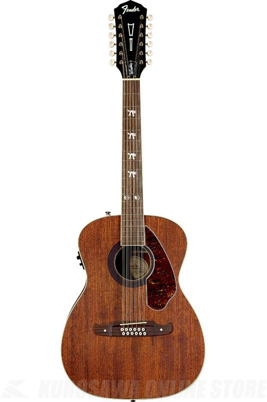 Fender Acoustic / Tim Armstrong Hellcat-12, Natural 《アコースティックギター》【ONLINE STORE】
