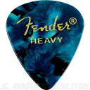 Fender 351 Shape Premium Picks, Heavy, Ocean Turquoise, 12 Count (12枚)《ピック》【ネコポス】【ONLINE STORE】