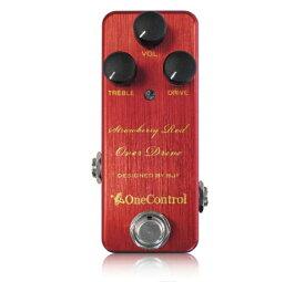 One Control Strawberry Red Over Drive 《エフェクター/オーバードライブ》【送料無料】【クロサワ楽器池袋店WEB SHOP】