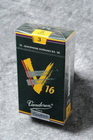 VANDOREN ソプラノサックス リード V16【バンドレン】【新品】【ウインドお茶の水】※強度をご指定ください