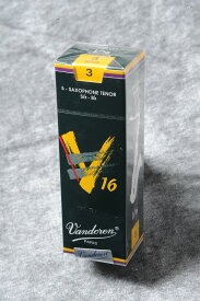 VANDOREN テナーサックス リード V16【バンドレン】【新品】【ウインドお茶の水】※強度をご指定ください