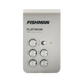〔新品〕FISHMAN〈フィッシュマン〉Platinum Stage EQ/DI Analog Preamp [PRO-PLT-301] [プラチナムステージ][プリアンプ/DI][アナログ][正規輸入品]【G'CLUB TOKYO】【アコースティックギター用プリアンプ】【送料無料】【smtb-u】