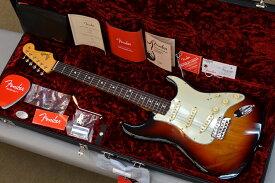 【新品】Fender American Original '60s Stratocaster 〜3-Color Sunburst〜 #V2088148 【軽量3.36kg】【ラッカーフィニッシュ】【9.5インチラジアス指板】【ヴィンテージトールフレット】【ラウンドローズウッド指板】【池袋店在庫品】