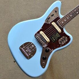 【新品】Fender American Original '60s Jaguar 〜Daphne Blue〜 #V1972164 【4.16kg】【ダフネ・ブルー】【鼈甲柄ピックガード】【ラッカーフィニッシュ】【ラウンドローズウッド指板】【ショートスケール】【9.5インチラジアス指板】【送料無料】【池袋店在庫品】