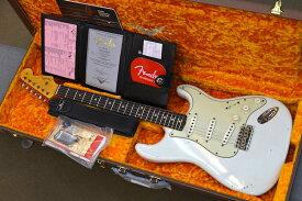 【新品】Fender Custom Shop Limited Edition 62/63 Stratocaster Journeyman Relic 〜Aged Olympic White〜 #CZ549877 【3.44kg】【限定モデル】【コンパウンドR指板】【ラウンド指板】【ミントグリーンPG】【HWピックアップ】【リフトソーンネック】【送料無料】【池袋店】