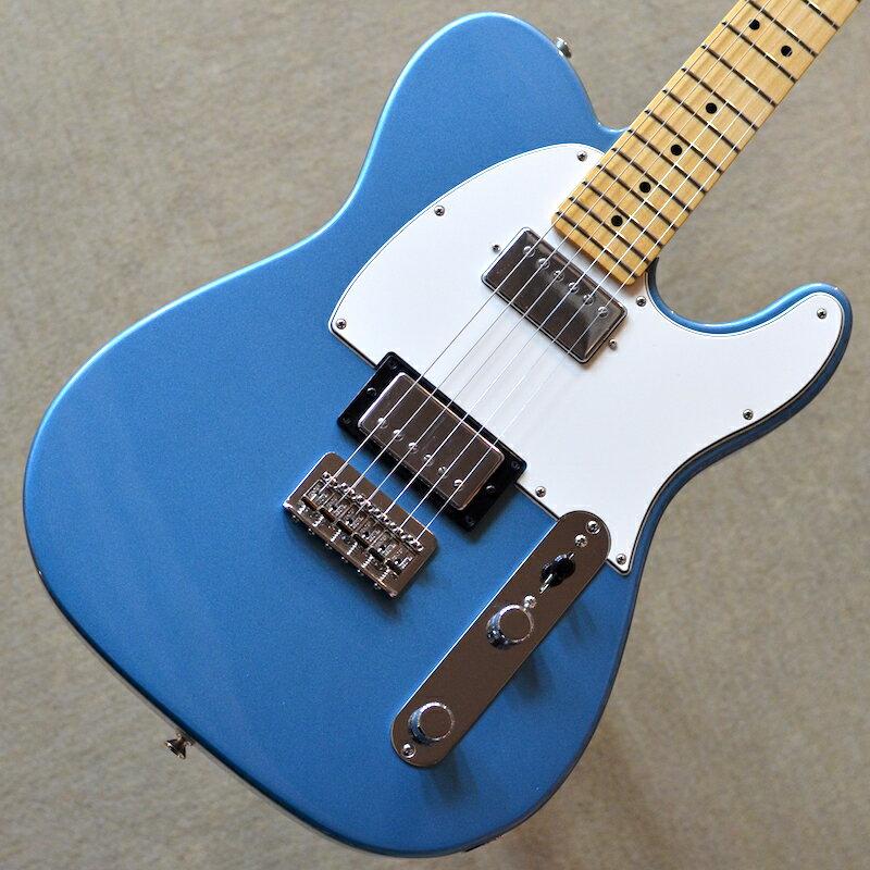 【新品】Fender Player Telecaster HH Maple Fingerboard 〜Tidepool〜 #MX18137833 【3.54kg】【22フレット】【コイルタップ】【ハムバッカー】【バック・コンター】【送料無料】【池袋店在庫品】