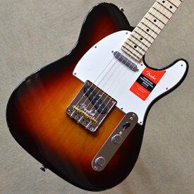 【新品】Fender American Professional Telecaster Maple Fingerboard 〜3-Color Sunburst〜 #US18077230 【3.46kg】【22ナロートールフレット】【9.5インチラジアス指板】【ブラス製ブリッジサドル】【USA製】【送料無料】【池袋店在庫品】