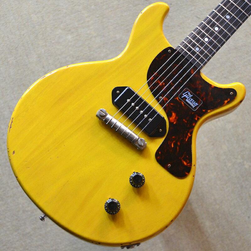 【新品】Gibson Custom Shop Japan Limited 1959 Les Paul Junior Double Cut Slight Light Aged 〜Bright TV Yellow〜 #983271 【2.98kg】【限定モデル】【送料無料】【池袋店在庫品】