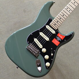【新品】Fender American Professional Stratocaster Maple Fingerboard 〜Antique Olive〜 #US18095639 【3.44kg】【選定個体】【9.5インチラジアス指板】【22ナロートールフレット】【2点支持ブリッジ】【USA製】【送料無料】【池袋店在庫品】