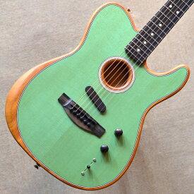 【新品】Fender American Acoustasonic Telecaster 〜Surf Green〜 #US191219 【2.32kg】【1本のみ店頭在庫有り即納可能】【エレアコ】【エボニー指板】【ノイズレス・ピックアップ】【送料無料】【池袋店在庫品】