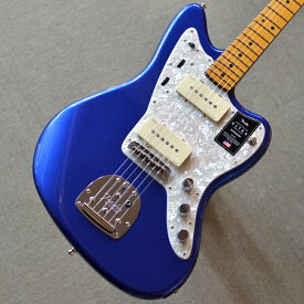 【新品】Fender American Ultra Jazzmaster Maple Fingerboard 〜Cobra Blue〜 【お取り寄せ商品】【ミディアムジャンボフレット】【コンパウンドラジアス指板】【ノイズレスピックアップ】【ロックペグ】【S1スイッチ】【サイドジャック】【USA製】【池袋店】