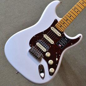 【新品】Fender American Ultra Stratocaster HSS Maple Fingerboard 〜Arctic Pearl〜 #US19072344 【3.69kg】【ミディアムジャンボフレット】【コンパウンドラジアス指板】【ノイズレスPU】【コンター加工】【ロックペグ】【S1スイッチ】【USA製】【池袋店在庫品】