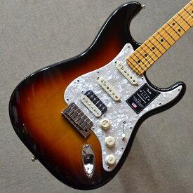 【新品】Fender American Ultra Stratocaster HSS Maple Fingerboard 〜Ultraburst〜 #US19072378 【3.63kg】【ミディアムジャンボフレット】【コンパウンドラジアス指板】【ノイズレスピックアップ】【コンター加工】【ロックペグ】【S1スイッチ】【USA製】【池袋店在庫品】