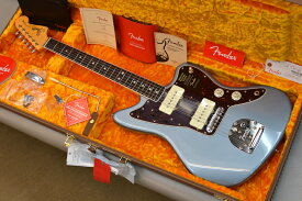 【新品】Fender American Original '60s Jazzmaster 〜Ice Blue Metallic〜 #V1969282 【3.67kg】【ラウンドローズウッド指板】【9.5インチラジアス指板】【ヴィンテージトールフレット】【ラッカーフィニッシュ】【USA製】【送料無料】 【池袋店在庫品】