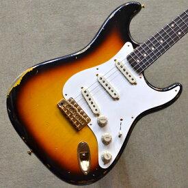 【新品】Fender Custom Shop Stevie Ray Vaughan Signature Stratocaster Relic #CZ544035 【3.39kg】【爆鳴り個体】【ピックガードモディファイ】【送料無料】【池袋店在庫品】