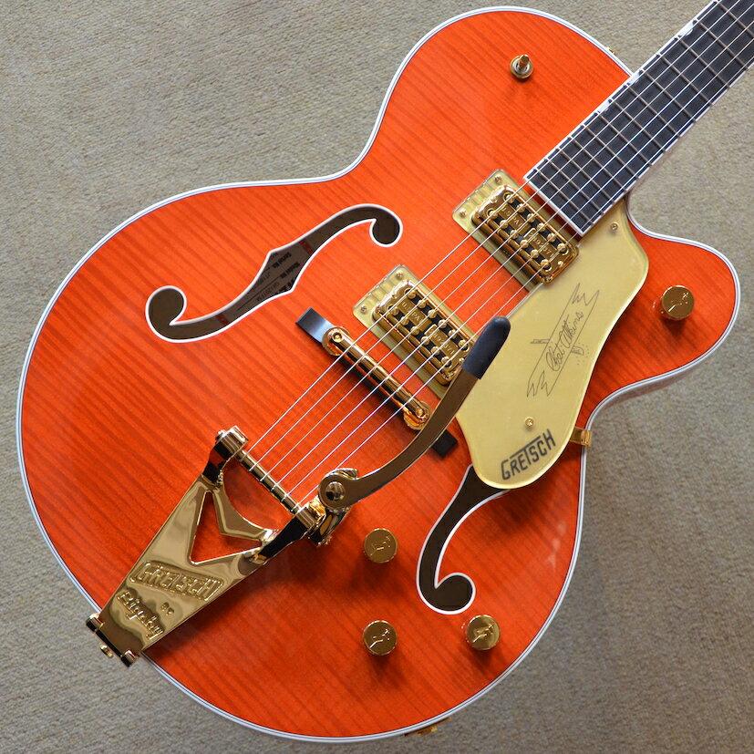 【新品】Gretsch G6120TFM Players Edition Nashville【次回入荷分予約受付中】【エボニー指板】【ロックペグ】【送料無料】【池袋店】