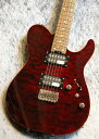 SCHECTER KR-24-2H-FXD Red/Rosewood #1502014【アルダーボディー】【Fixedブリッジ】【濃杢個体】【池袋店在庫品】
