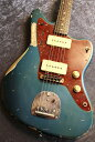 FREEDOM CUSTOM GUITAR RESEARCH Custom Order RS JM All Lacquer Relic Old Lake Placid Blue /Brazilian Rosewood #…