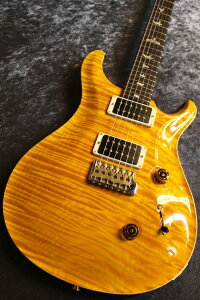 Paul Reed Smith(PRS) 2019 Custom24 1-Piece Flame Maple 10Top Vintage Yellow #0285455 【スタッフ選定品】【極杢個体】【ワンピースフレイムトップ!】【池袋店在庫品】
