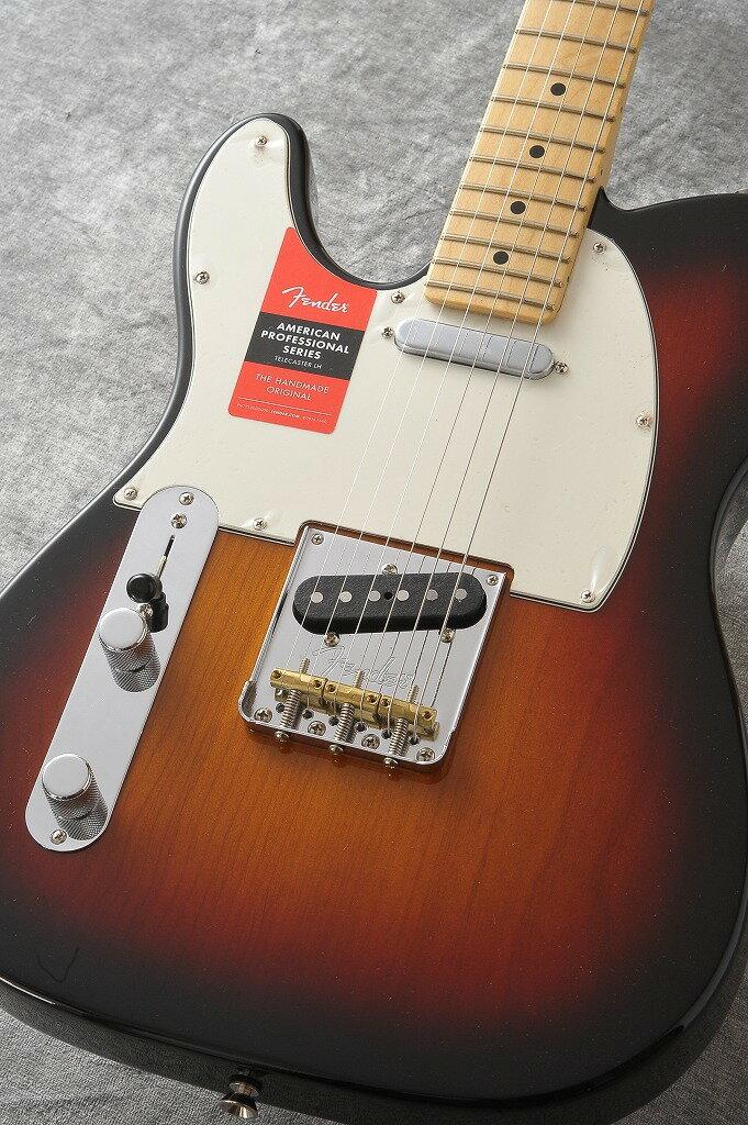 Fender American Professional Lefty Telecaster 3 Color Sunburst/Maple #16087705 【2017年 New Model】 【新品】【池袋店在庫品】